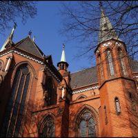 GLIWICE. Katedra św. Apostołów Piotra i Pawła/St. Peter and Pauls Cathedral, Гливице