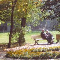 Jesień w parku Chopina w GLIWICACH, Гливице