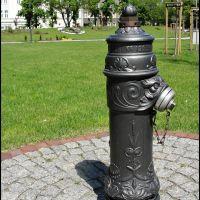 GLIWICE. Prawdopodobnie najładniejszy hydrant w mieście/Probably the nicest fire hydrant in the city, Гливице