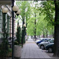 GLIWICE. Ul. Barlickiego/Barlickiego street, Гливице