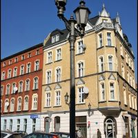 GLIWICE. ul. Krupnicza/Krupnicza street, Гливице
