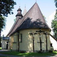 Zywiec - Kápolna hátulnézetből, Живец