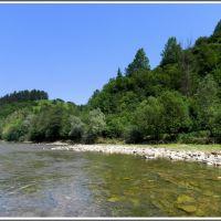 Soła - spacer po rzece, Живец
