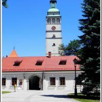 Żywiec - oficyny zamkowe i wieża Kontrkatedry N.N.M.P., Живец
