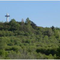 Krzyż Papieski na Średnim Grojcu, Живец
