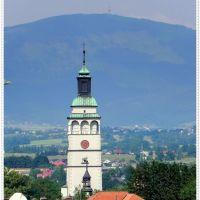 Żywiec - wieża Kontrkatedry, Живец