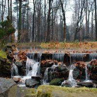 Żywiec, park przy Pałacu Habsburgów, Живец