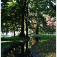 Żywiec-uroczy  park, Живец