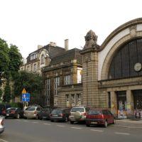 Katowice - the old railway station, Катовице