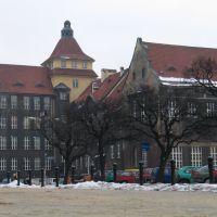Dawna Szkoła Realna, dziś Wydział Biologii UŚ, Катовице