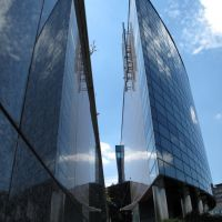 Reflections on the building, Катовице