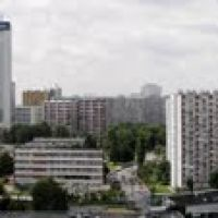 Katowice - a panoramic view from Novotel; 2010-06-27, Катовице
