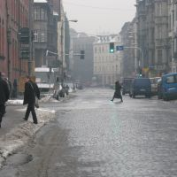 J. Slowackiego (Winter) Street Scene, Катовице