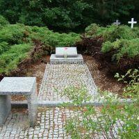 Lubliniec. Cmentarz, mogiła zbiorowa 14 żołnierzy radzieckich., Люблинец