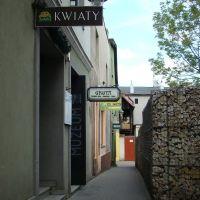 Lubliniec, uliczka do rynku., Люблинец