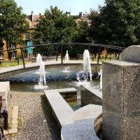 Mysłowice - Fontanna na rynku, Мысловице