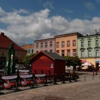 Rynek, widok na zachód (Market square, view to the west), Мысловице