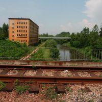 Widok z mostu tramwajowego (view from tram-bridge), Мысловице