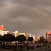 Tęcza na niebie (rainbow on the sky), Мысловице