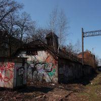 Ruiny przy torach (old building), Мысловице