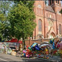 RYBNIK. Odpust w Bazylice św. Antoniego Padewskiego/The church fair in St. Antoni Padewskis Basilica, Рыбник