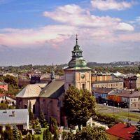 Będzin - widok na kościół Świętej Trójcy / wiew of the church of Saint Trinity, Сосновец
