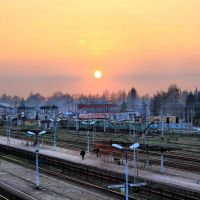 Railway Sunset, Цеховице-Дзедзице