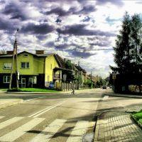 SKRZYŻOWANIE UL. ADAMA  MICKIEWICZA I JANA  SOBIESKIEGO., Цеховице-Дзедзице