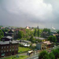 Widok na ulicę Świerczewskiego, Честохова