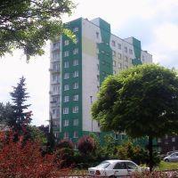 """Bloki """"Centrum"""" na ul. Świerczewskiego, Честохова"""