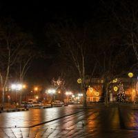 Siemianowice Slaskie -Rynek  w nocy -Styczen 2012-   PL, Честохова