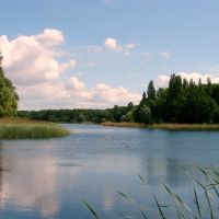 Największe i  najładniejsze  jezioro w Gnieźnie   WINIARY., Конские