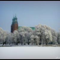 Katedra w zimowej szacie., Сандомерж
