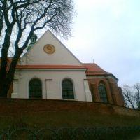 Kościół Św. Trójcy - widok od ul. Stromej, Сандомерж