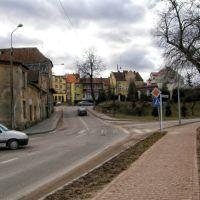Bartoszyce skrzyżowanie.K.Jagiellończyka/młynarska/wybrzeża, Бартошице