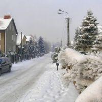 zima w mieście, Бартошице