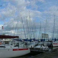 Giżycko, port jachtowy, Гижичко