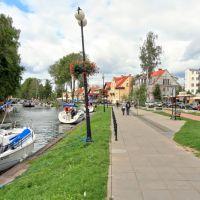 Giżycko (Lėcius) - Łuczański flume (watercourse), Гижичко