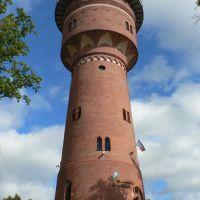Giżycko - water tower / wieża ciśnień, Гижичко