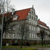 Giżycko (Lėcius), county administration building, Гижичко