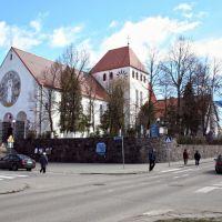 Gizycko (Lėcius), Church of St. Bruno (arch. M. Weber, 1936-38), Гижичко