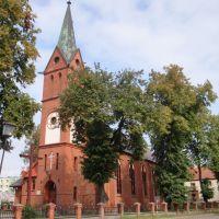 Dzialdowo, kościół św. Wojciecha, Дзялдово