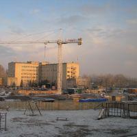 Budowa bloku - 2008, Дзялдово