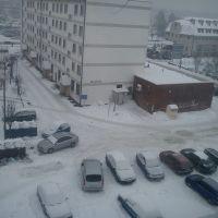Męczenników zimą, Дзялдово
