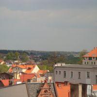 Widok z dachu Pocztowa 9A, Дзялдово