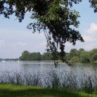 widok na jezioro Jeziorak, Илава