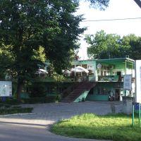 Das Restaurant vom Campingplatz in Ilawa, 20.08.09, Илава