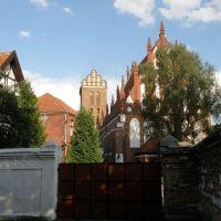 Fara w Iławie/ Parish church in Iława, Илава