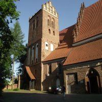 Iława - kościół p.w.Przemienienia Pańskiego [1317 - 1325 r. ], Илава