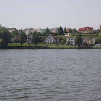 Widok na Mały Jeziorak, Илава